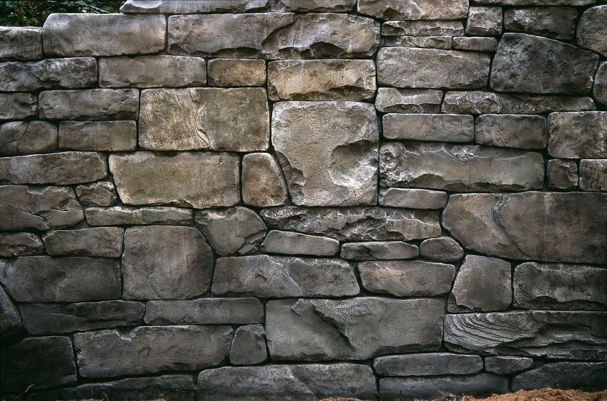 тесаный бутовый камень искусственный