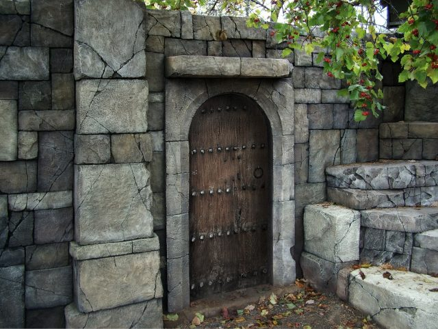 Изображение дубовой двери