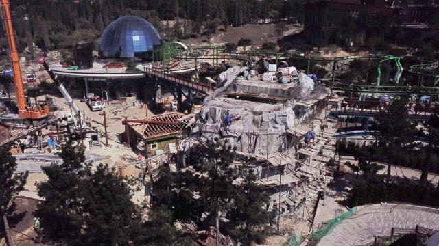 строительство декораций в парке