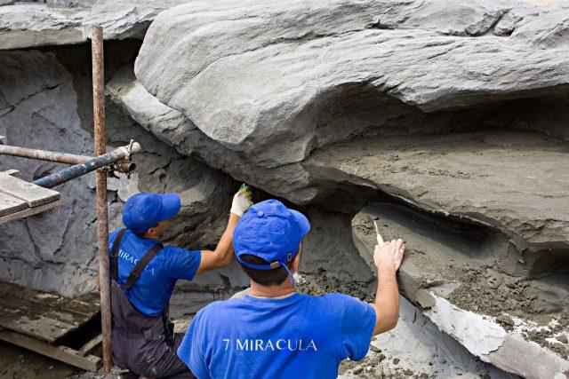Детализирование искусственного камня