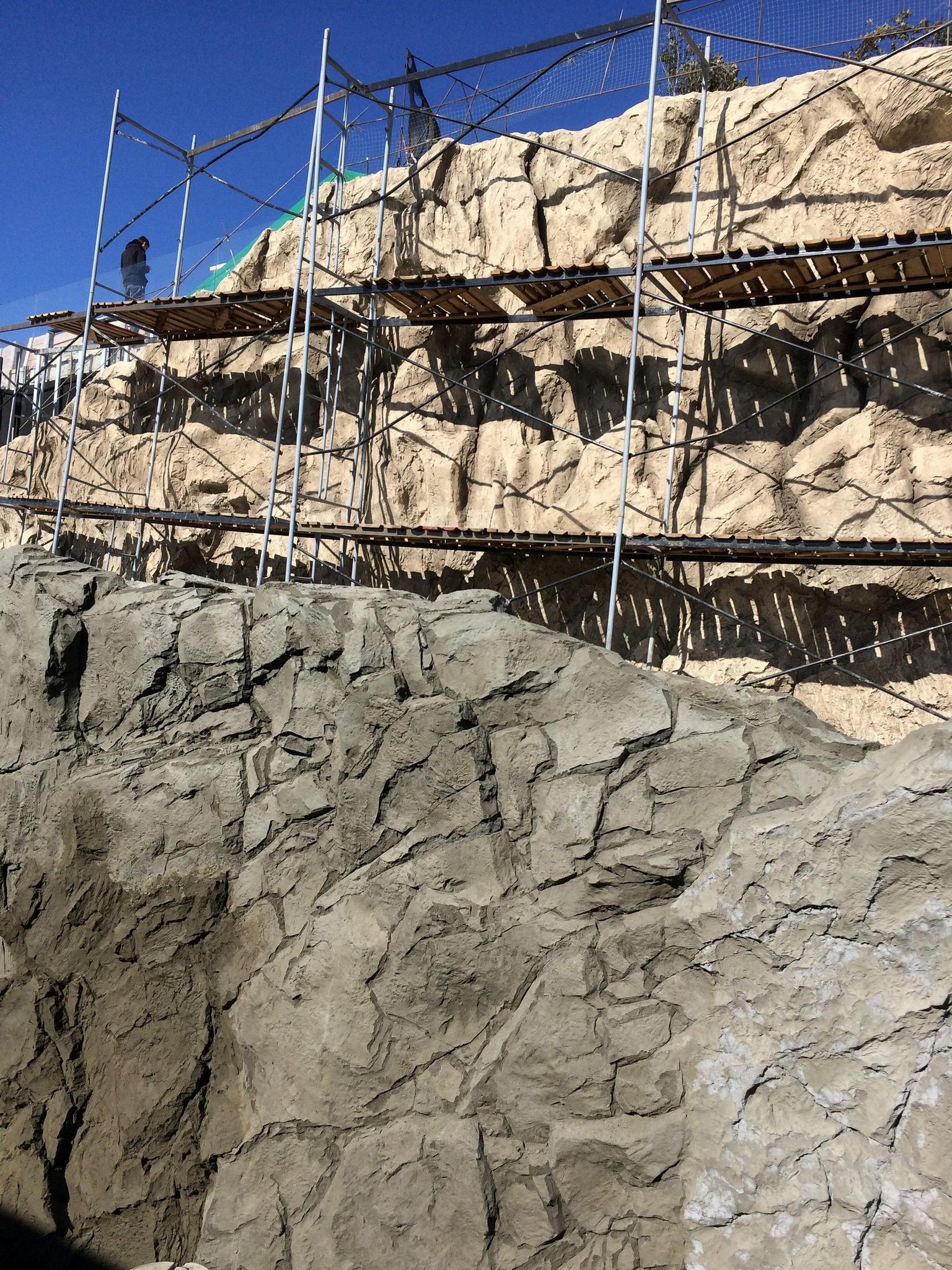 Имитация скалистой поверхности