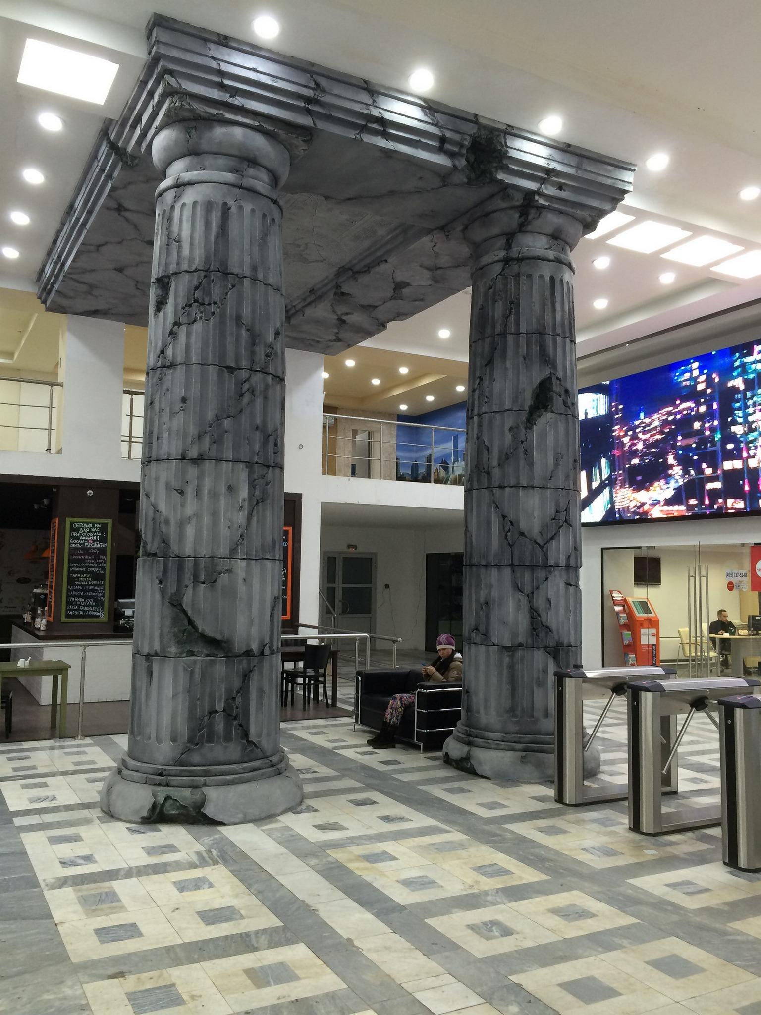 Дизайн холла бизнес-центра