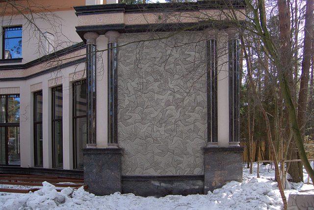 Орнамент птицы Эшера