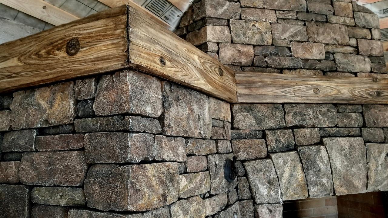 Каменная кладка из артбетона