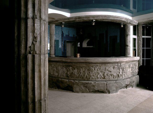 Барная стойка из искусственного камня