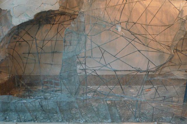 Строительство каркаса скалы