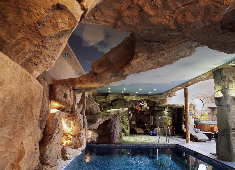 Отделка бассейна в доме