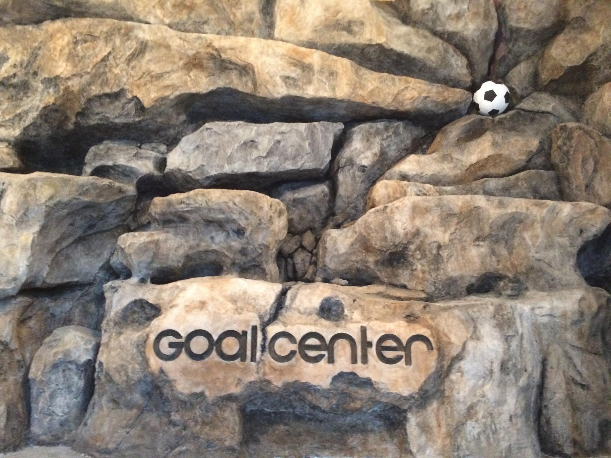 Логотип на искусственном камне