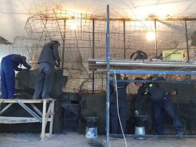 Подготовительные работы для отделки бетоном