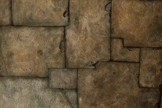 Декоративная отделка стен под камень